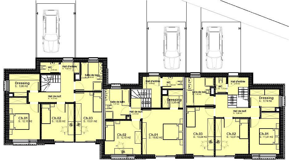 Viesion passive maisons passives projet plan peb - Plan maison 2 niveaux ...